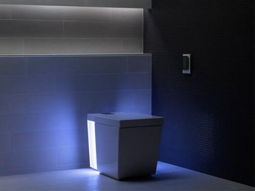 WC più tecnologico al mondo con Bluetooth e lettore SD