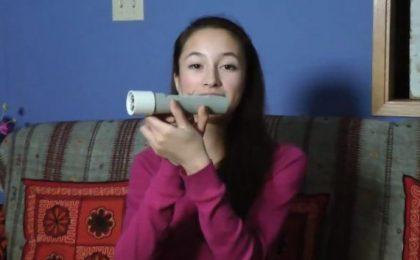 Torcia alimentata dal calore della mano, inventata da una 15enne [VIDEO]