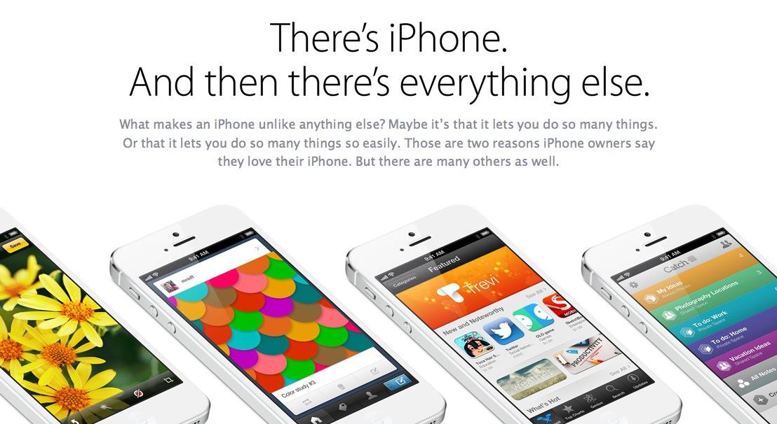iPhone 5 è uno e gli altri son nessuno