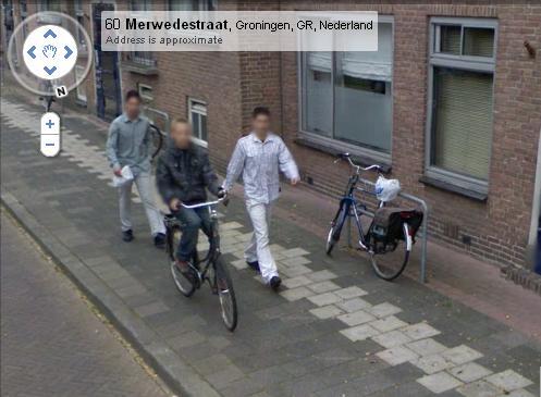 Furto bici Google Street View