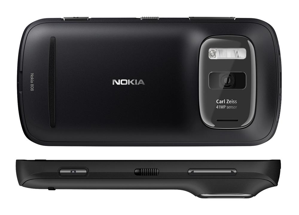 Nokia 808 PureView nero