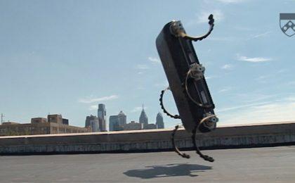 Robot che pratica parkour, per il salvataggio 2.0 [VIDEO]