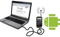 Tethering via USB e Wi-Fi con Android e iPhone