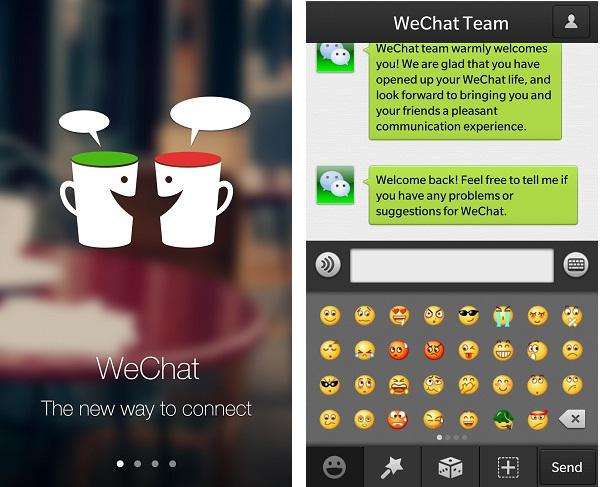 WeChat Blackberry