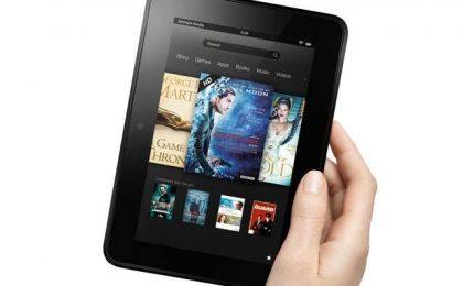 Amazon Kindle Fire HD da 7 pollici a prezzo scontato [FOTO]