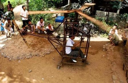 chinese homemade helicopter