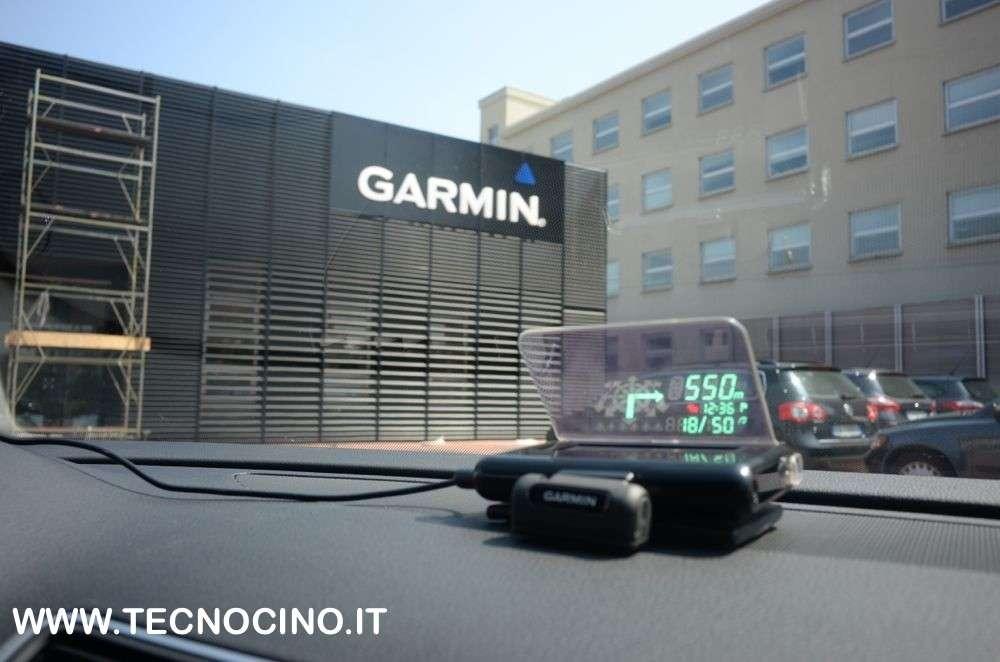 Garmin HUD: la navigazione a proiezione stile caccia [FOTO e VIDEO]