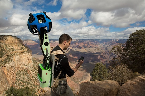 google street view canyon trekker