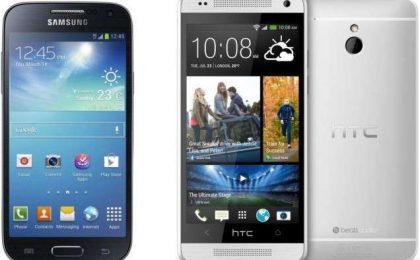HTC One Mini vs Samsung Galaxy S4 Mini: sfida-confronto [FOTO]