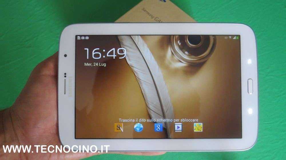 Samsung Galaxy Note 8 recensione del tablet che telefona [FOTO&VIDEO]