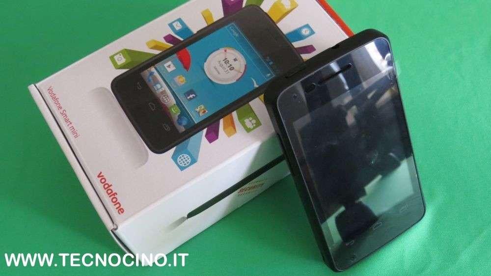 Vodafone smart mini recensione prezzo e caratteristiche for Smartphone piccole dimensioni
