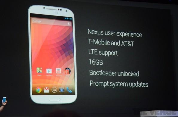Galaxy S4 Google Experience
