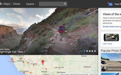 Google Maps Views (Viste): foto panoramiche a 360 gradi