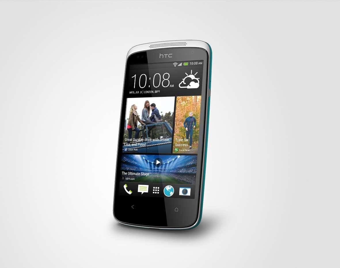 HTC Desire 500: caratteristiche, prezzo e uscita [FOTO]