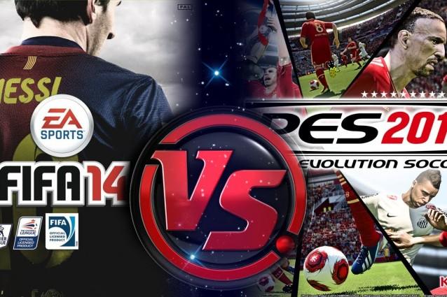 FIFA 14 PES 2014
