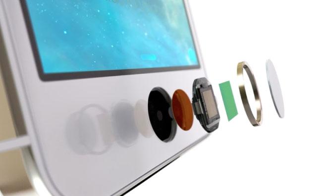 Lettore impronte digitali Apple iPhone 5s