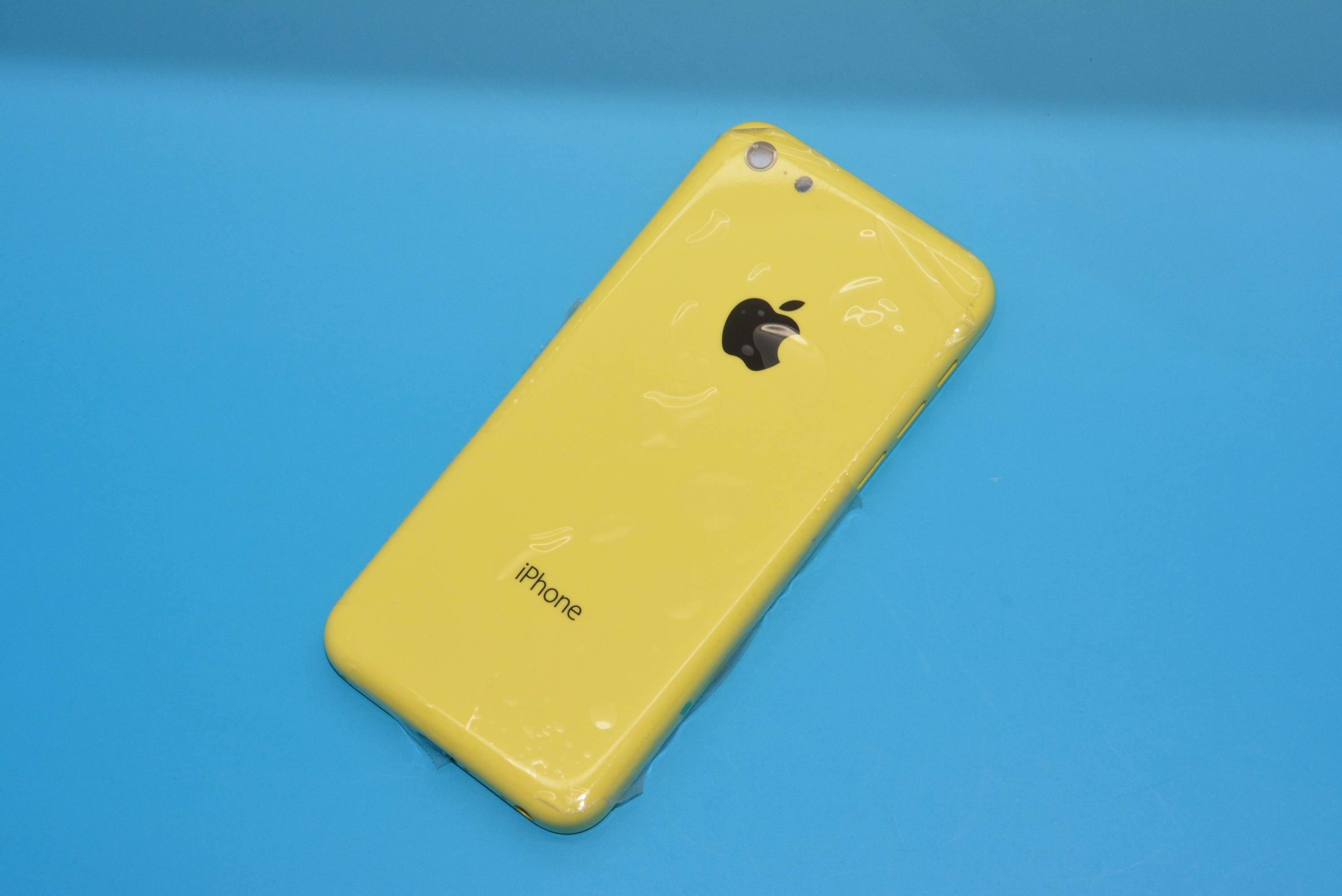 iPhone 5C giallo