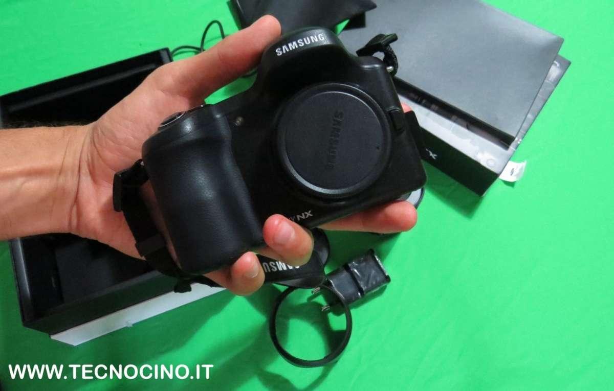 Samsung Galaxy Camera NX recensione della mirrorless Android
