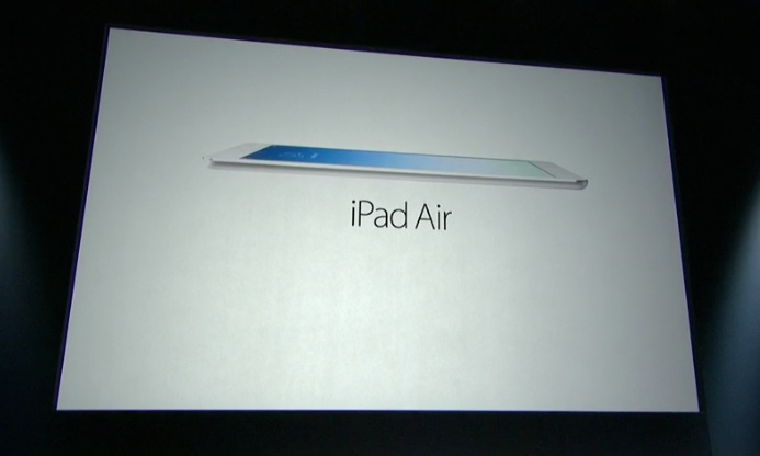 iPad Air: caratteristiche tecniche e scheda [FOTO]