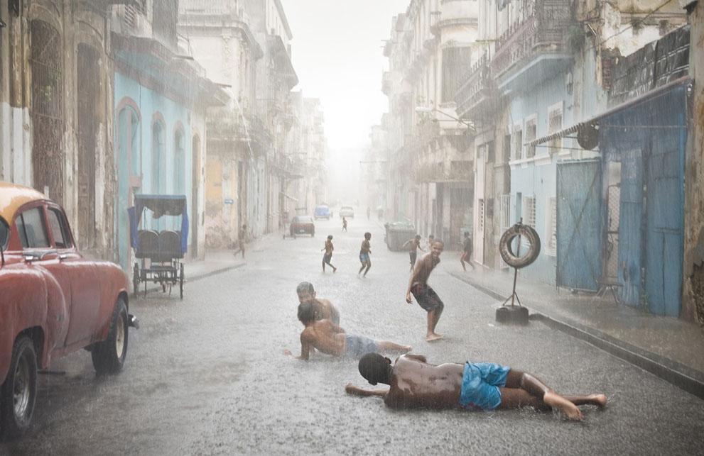 Havana bambini pioggia