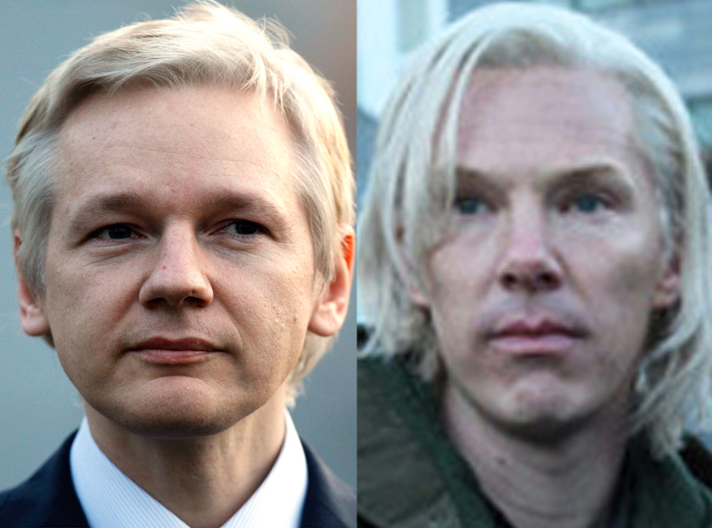 Julian Assange vs Benedict Cumberbatch