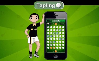 Tapling: il gioco di calcio stile Ruzzle e memory [VIDEO]
