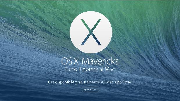 Apple Mavericks: download gratis dell'OS X