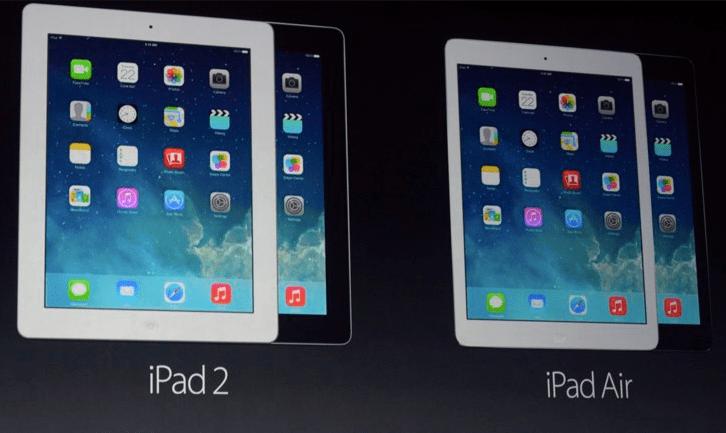 iPad 2 iPad Air