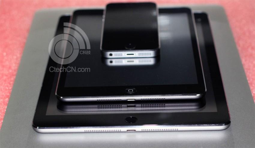 iPad 5 e iPad Mini 2 prima foto