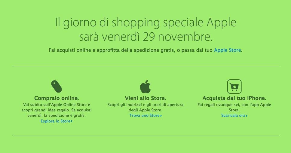 Apple Black Friday per l'Italia: sconti e promozioni (scarsi)