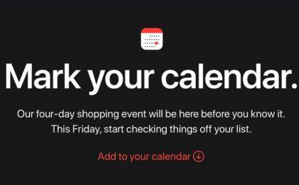 Black Friday 2018 Apple per l'Italia: sconti e promozioni fino al Cyber Monday