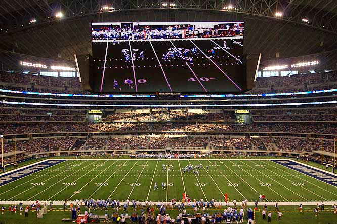 Dallas Cowboys Stadium Screen
