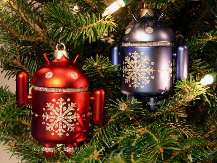 Palline di Natale Android