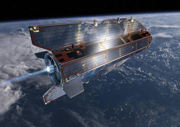 Satellite Goce si disintegra senza causare danni
