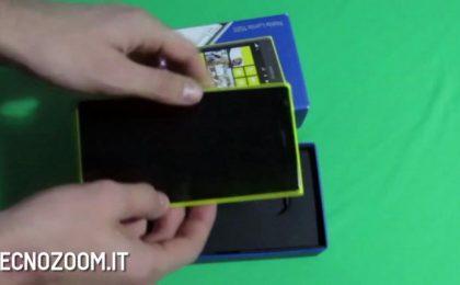 Nokia Lumia 1520: video recensione del gigante [FOTO e VIDEO]