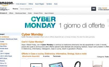 Amazon e Mediaworld Cyber Monday 2013: offerte e promozioni