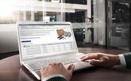 Mercedes-Benz WebParts: piattaforma online per i ricambi