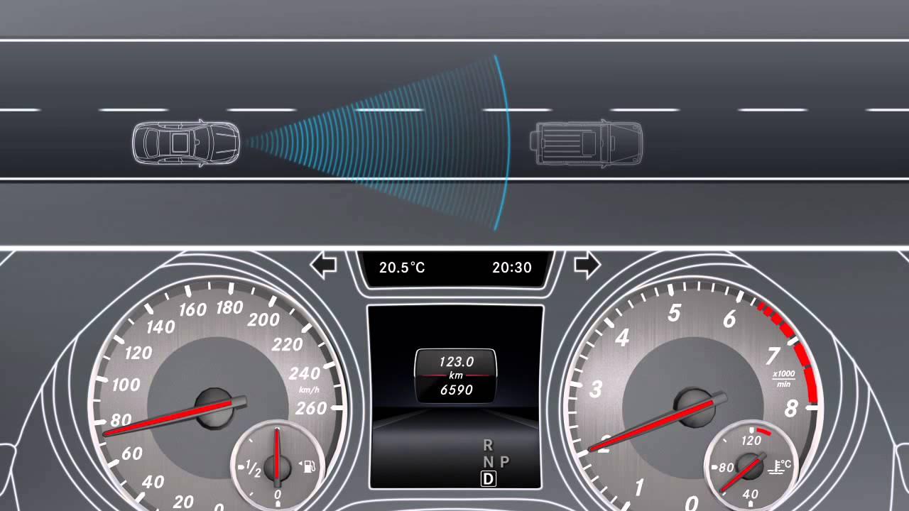Mercedes CLA, tecnologia al servizio della sicurezza