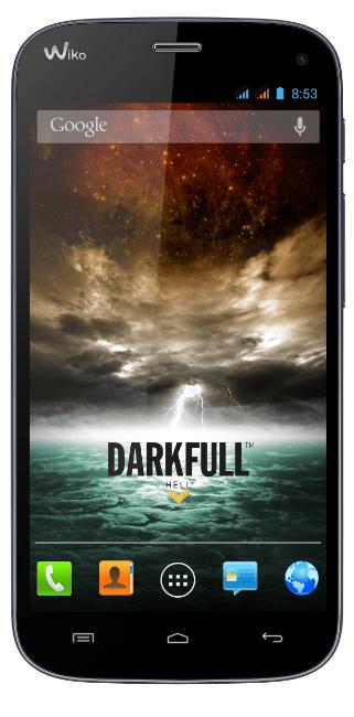 Wiko DARKFULL darkblue android