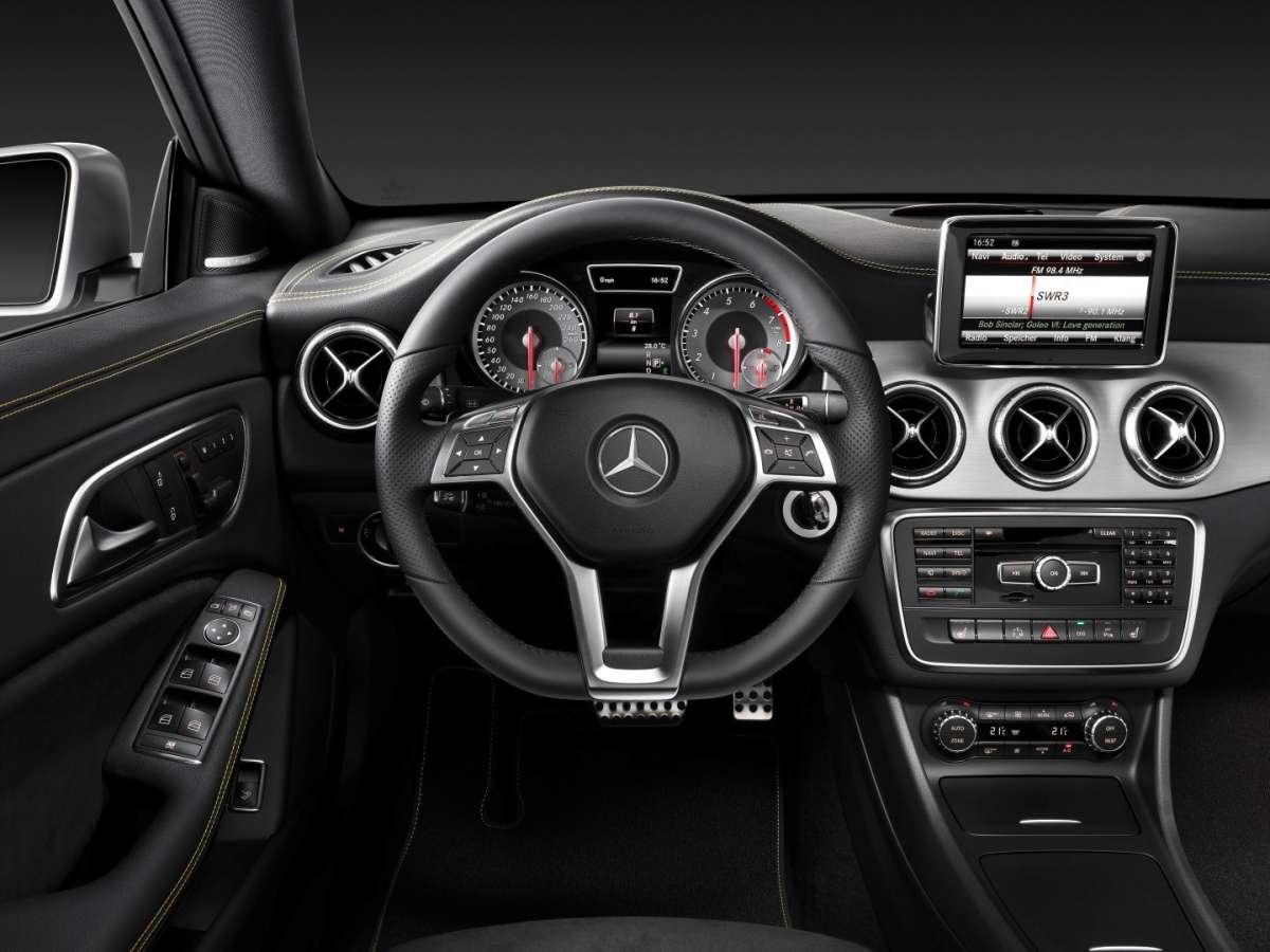Mercedes CLA, intuitività tecnologica