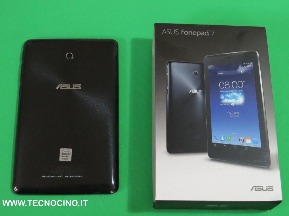 Asus FonePad 7 piu confezione