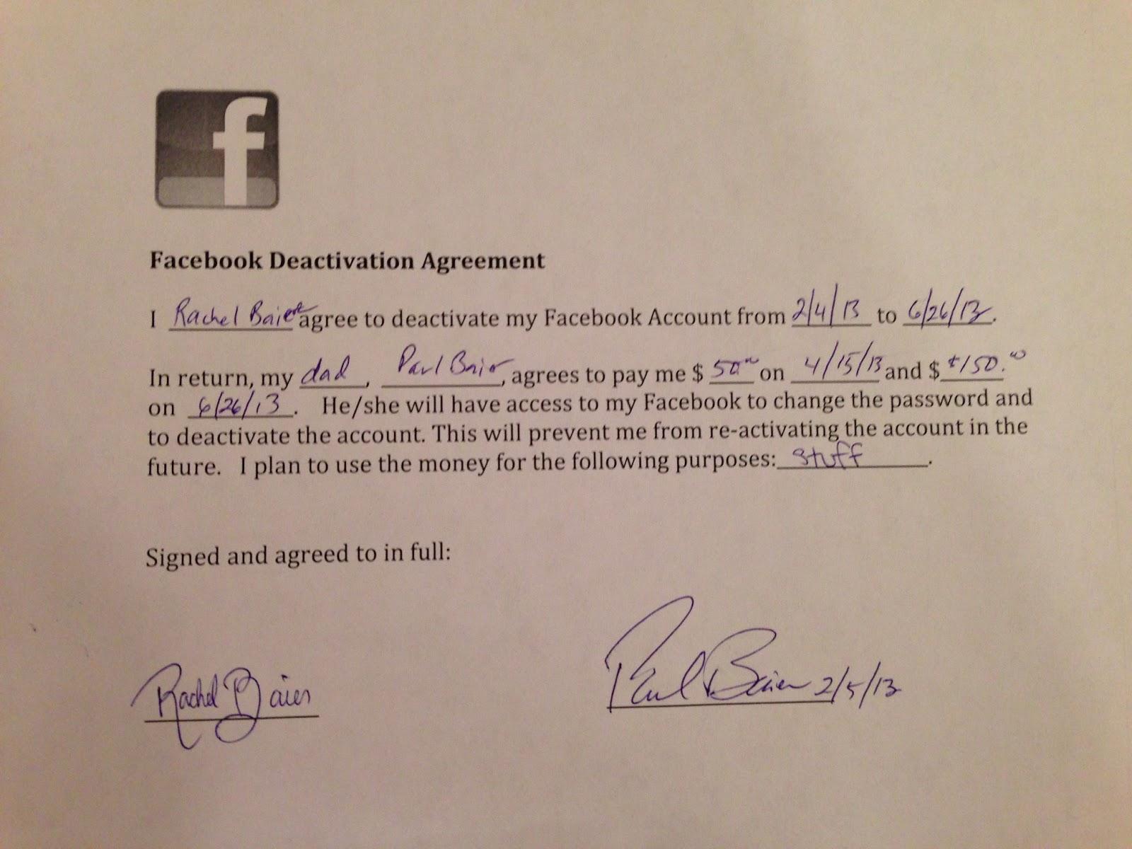 Facebook contratto padre figlia