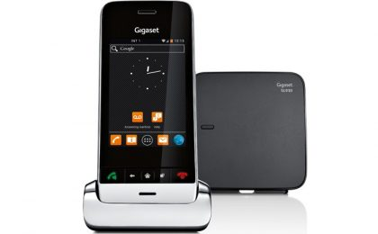 Gigaset SL930A: recensione del cordless touchscreen Android