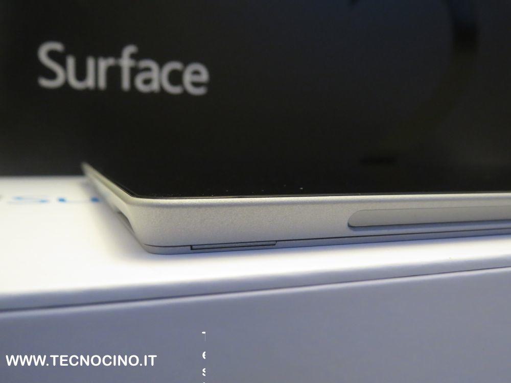 Microsoft Surface 2 spessore