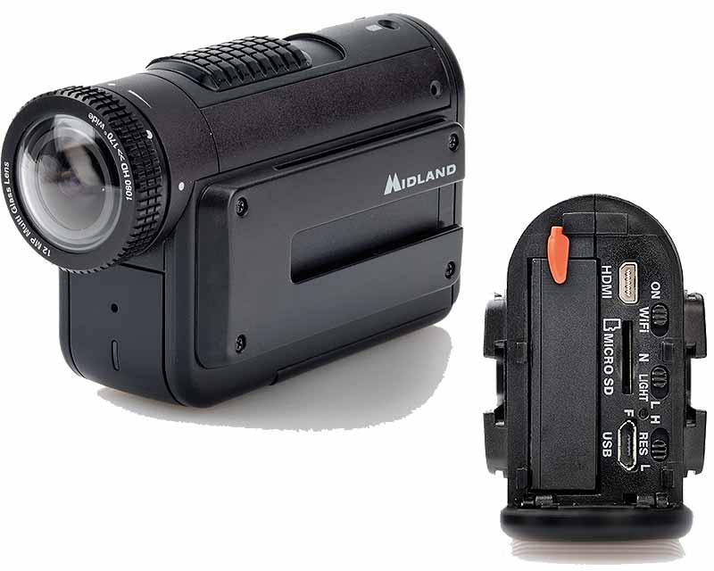 Midland XTC-400: recensione della actioncam [FOTO]