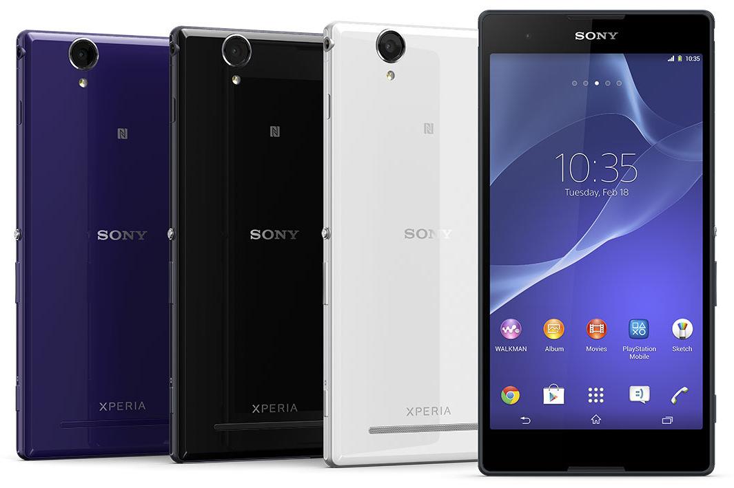 Sony Xperia T2 Ultra: il phablet tutto schermo