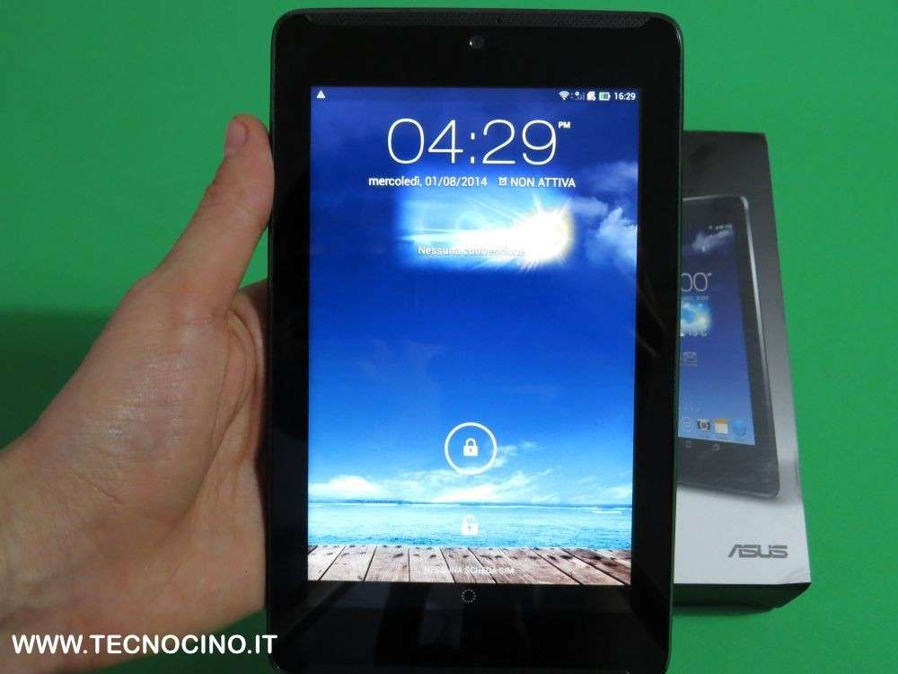 Asus Fonepad 7 con Intel Atom Clover Trail+ [TEST]