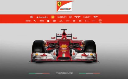 Nuova Ferrari F14T presentazione live web