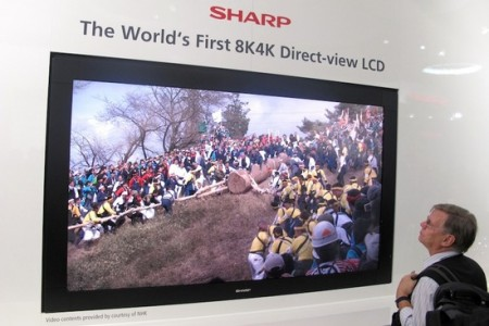 hd tv Sharp 8k4k