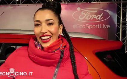 Nina Zilli: con iPhone gioco a palla [VIDEO INTERVISTA]